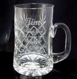 Personalised Tankards and Beer Glasses for Men
